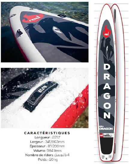 Red-paddle-planche-SUP-Race-dragon