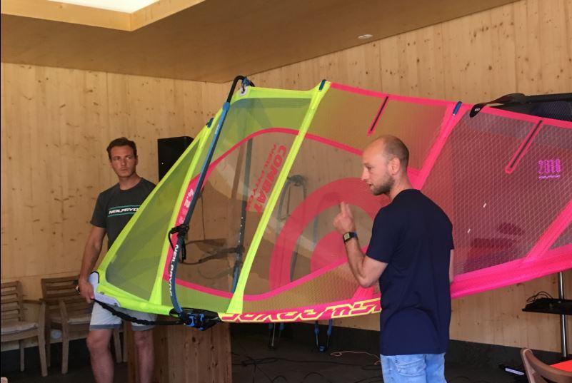 Présentation de la nouvelle gamme Neil Pryde Windsurf.